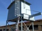 Dokončení instalace zásobníku piliny
